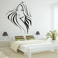 Sexy Girl S Woman S Lady S Beautiful Face Large Wall Art Decal Vinyl Sticker Ebay