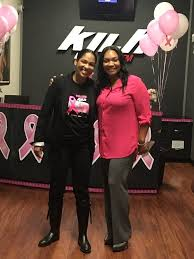 Komen LA Board member Marveina P. and Adai Lamar from the 102.3 Radio-Free  KJLH studios! They're hosting an all-day on-air pledg… | Pink friday,  Lamar, Local events
