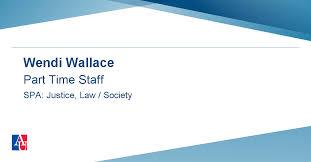 Profile: Wendi Wallace