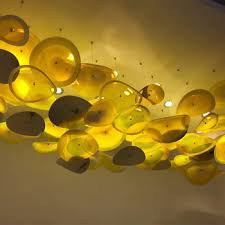 decorative blown murano glass plates