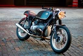this custom bmw cafe racer proves some