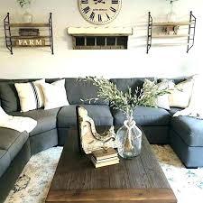 grey sofa decor dark leather decorating