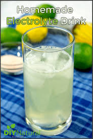 homemade electrolyte drink healthy