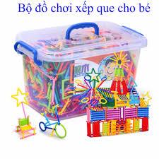 Bộ ghép que cho bé, đồ chơi tốt cho trẻ em, đồ chơi lắp ghép, dụng