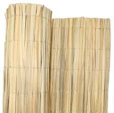 Bulrush Natural Garden Bamboo Fence Screening Roll Privacy Border Sun Protection Ebay