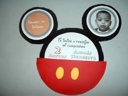 Cards N Party Tarjeta De Cumpleanos De Mickey Mouse