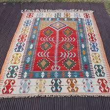 handmade rug natural kilim