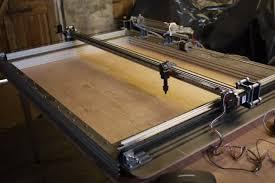 diy large format laser cutter diy