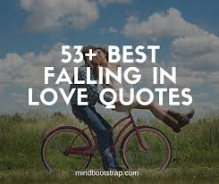 best falling in love quotes sayings for him and her