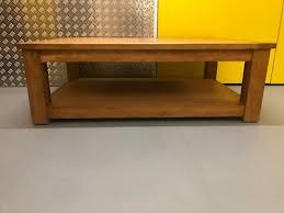 cambridge solid oak large coffee table