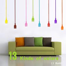 colourful e27 silicone led lamp bases