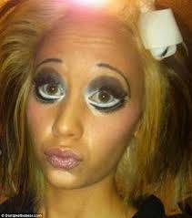 worst makeup fails ever 30 funny pics