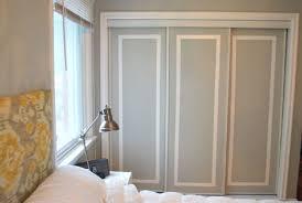 easy diy ways to decorate closet doors