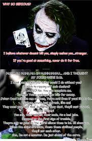 just some joker quotes by vuk meme center