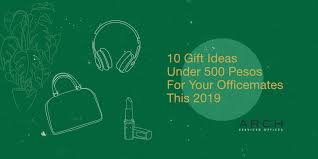 10 gift ideas under 500 pesos for your