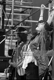 Patti Smith performs live on stage with Ivan Kral from The Patti... | Patti  smith, Patti smith group, Electronic music festival