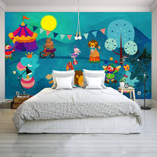 3d Photo Mural Wallpaper For Kids Room Animal Paradise Cartoon Children House Mural Non Woven Bedroom Wallpaper Painting Hd Wallpaper Images Hd Wallpaper In Hd From Shop7722 27 79 Dhgate Com