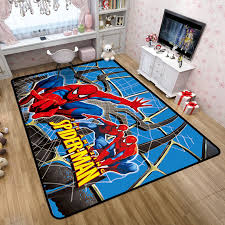 Disney Marvel Spiderman Rug Cartoon Winnie Pooh Children Boys Room Carpet Nordic Bedroom Living Room Blanket Kids Baby Game Mat Rug Aliexpress