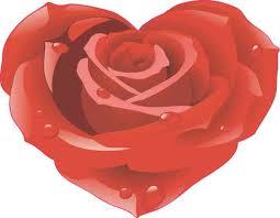 4 5in X 3 5in Rose Heart Sticker Vinyl Tumbler Decal Floral Vehicle Decals Stickertalk