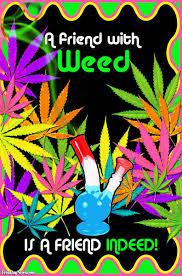 free trippy weed drawings