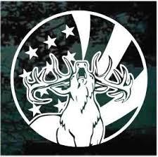 American Elk Decals Car Window Stickers Decal Junky