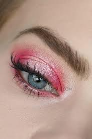 pink halo hooded eyes missy sue