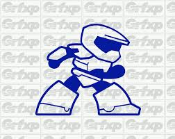 Master Chief From Xbox One S Sticker Grafixpressions