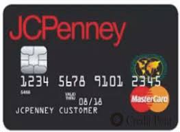 jcpenney rewards credit card login