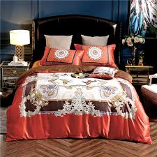 luxury brand bedding set palace style