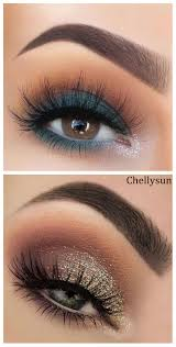 natural makeup looks for green eyes