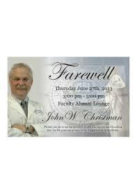 20 farewell invitation exles