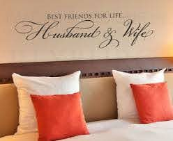 Best Friends For Life Husband Wife Wall Decal Vinyl Sticker Art Decor Quote A10 Ebay