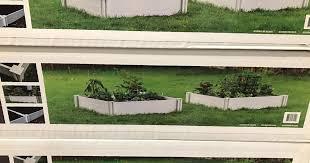 vita white vinyl raised garden bed 2