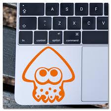 Splatoon Inkling Squid Nintendo Vinyl Decal Sticker Pink Pineapple Design