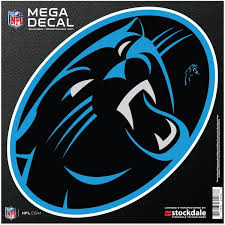 Official Carolina Panthers Car Decal Panthers Window Decal Window Decal For Cars Nflshop Com