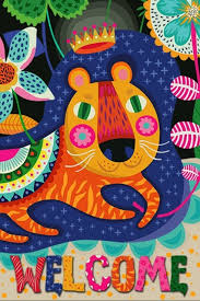 johnin own design cute animal abstract