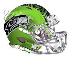 Seattle Seahawks Elite Helmet Sticker Vinyl Decal 10 Sizes Sportz For Less