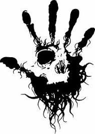 Hand Skull Tribal Eye Fingers Car Truck Window Laptop Vinyl Decal Sticker Ebay