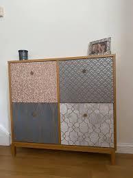 cabinet into chic shoe storage unit