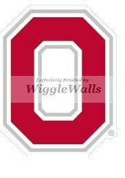 Amazon Com 3 Inch O Logo Symbol Red White Osu Ohio State University Buckeyes Removable Wall Decal Sticker Art Ncaa Home Decor 2 By 2 3 4 Inch Baby