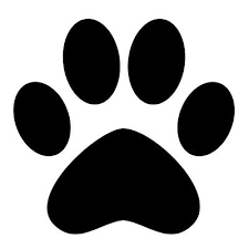 Paw Print Vinyl Decal Car Window Laptop Bumper You Pick The Color And Size Ebay