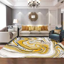 watercolor yellow white marble