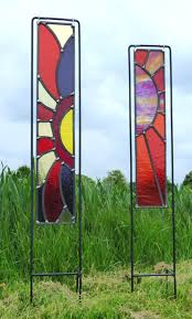 garden stained glass panels