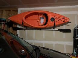 Wall Mounted Kayak Storage Rack With Paddle Hooks Walmart Com Walmart Com