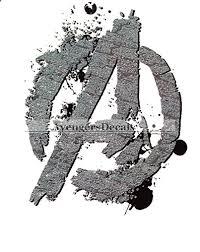 4 Inch Marvel Avengers A Logo Symbol Sig Buy Online In Guernsey At Desertcart