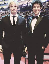 Pin by Wendi Henderson on Merlin and Arthur - Colin and Bradley   Colin  morgan, Bradley james, Merlin and arthur