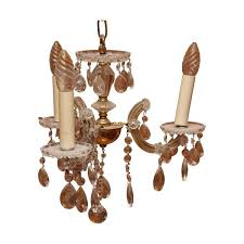 small crystal chandelier 3 lights