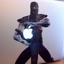 Sub Zero Macbook Decal Hilarious Macbook Stickers Macbook Decal Sub Zero