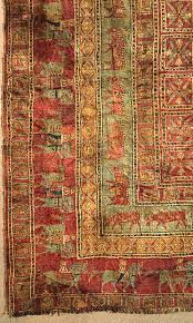 the oldest persian rugs ever found
