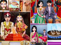 wedding dress up games indian free